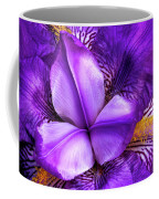Purple Japanese Iris Coffee Mug