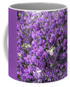 Purple Screen Square Coffee Mug