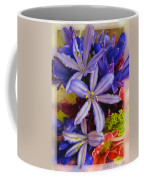 Purple Stars Coffee Mug