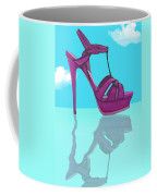 Purple Stilt Stilettos Reflections Coffee Mug