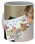 Puzzle Therapy Coffee Mug by Photo Researchers, Inc.