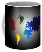 Puzzle World Treasure Map Coffee Mug