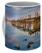Pylons In Humboldt Bay Coffee Mug