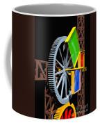 Pythagorean Machine Portrait 1 Coffee Mug