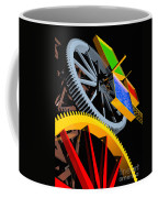Pythagorean Machine Portrait 4 Coffee Mug