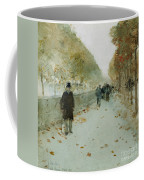 Quai Du Louvre Coffee Mug by Childe Hassam