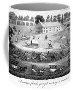 Quaker Meeting, 1811 Coffee Mug by Granger
