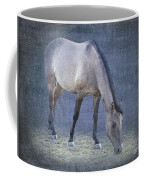 Quarter Horse In Blue Coffee Mug by Betty LaRue