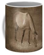 Quarter Horse In Sepia Coffee Mug by Betty LaRue