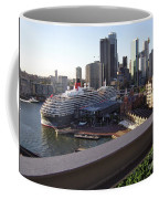 Queen Victoria Berthed In Sydney Coffee Mug