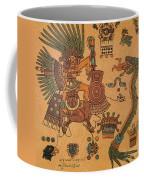 Quetzalcoatl, Aztec Feathered Serpent Coffee Mug