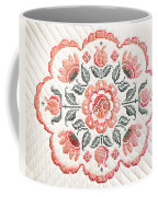 Quilted Centerpiece Coffee Mug