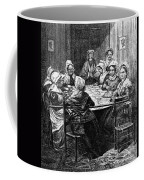 Quilting Party, 1864 Coffee Mug