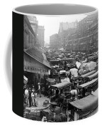 Quincy Market From Faneuil Hall - Boston - C 1906 Coffee Mug