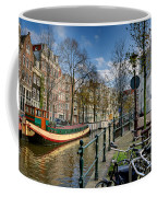 Raamgracht And Groenburgwal. Amsterdam Coffee Mug