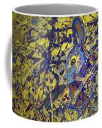 Rabbit In Brush Coffee Mug