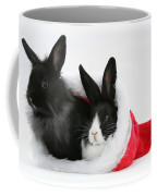 Rabbits In Hat Coffee Mug