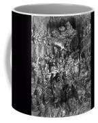 Rabelais: Gargantua And Pantagruel.  Illustration Of The Life Of Gargantua And Of Pantagruel By Fran�ois Rabelais. Wood Engraving, 1873, After Gustave Dor� Coffee Mug