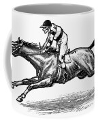 Race Horse, 1900 Coffee Mug
