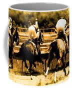 Race To The Finish Line Coffee Mug