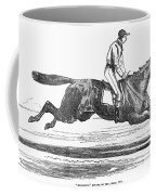 Racehorse, 1856 Coffee Mug