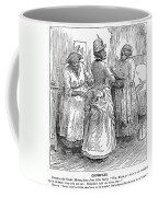 Racial Caricature, 1886 Coffee Mug