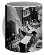Radio Operator Operates His Scr-188 Coffee Mug by Stocktrek Images