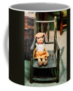 Rag Doll In Chair Coffee Mug
