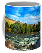 Raging River Coffee Mug by Robert Bales