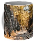 Rail Road Cut Coffee Mug