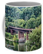 Railroad Bridge At East Falls Philadelphia Coffee Mug