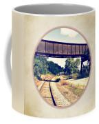 Railroad Tracks And Trestle Coffee Mug