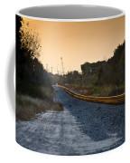 Railway Into Town Coffee Mug
