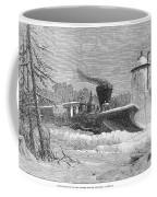 Railway Snow Plough, 1862 Coffee Mug
