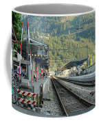 Railway Station West Interlaken Switzerland Coffee Mug