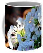 Rain Drenched Phlox Coffee Mug
