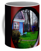 Rain Drops Through Window Coffee Mug