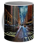 Rain On Park Avenue Coffee Mug