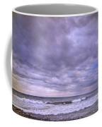 Rain Storm At The Sea Coffee Mug
