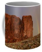 Rainbow And Red Rock Coffee Mug