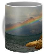 Rainbow At The End Of The World  Coffee Mug