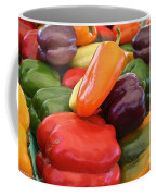 Rainbow Bells Coffee Mug by Susan Herber