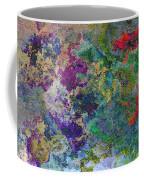 Rainbow Fish Watercolor Abstract Art Coffee Mug