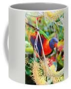 Rainbow Lorikeet 2am-8374 Coffee Mug