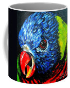 Rainbow Lorikeet Look Coffee Mug
