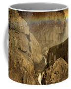 Rainbow Over Lower Bridal Veil Coffee Mug