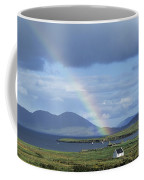 Rainbow Over Mountains, Ballinskelligs Coffee Mug