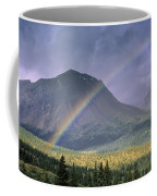 Rainbow Over Willmore Wilderness Park Coffee Mug