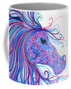 Rainbow Spotted Horse Coffee Mug