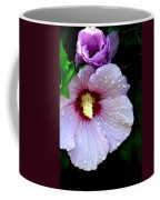 Raindrops On Roses Of Sharon Coffee Mug